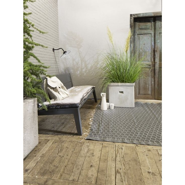 vtwonen Dock Tuinbank 160 cm - Antraciet