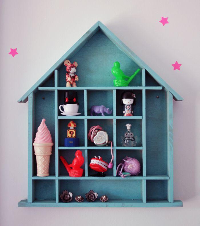DIY customiser une maison miniature en bois – Poulette Magique