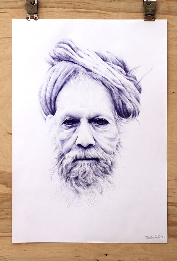 Ballpoint Pen Illustrations by Toni Eferhttp://www.saatchiart.com/art-collection/Drawing/BallPointPen/706338/75217/view