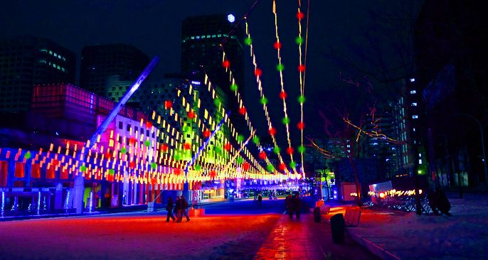 Montreal's Quartier Des Spectacles Will Be Turned Into A Christmas Village | MTL Blog