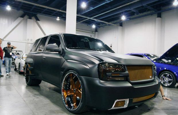 Chevrolet Trailblazer SS — Murdered-Out: 50 Menacing Matte Black Cars | Complex