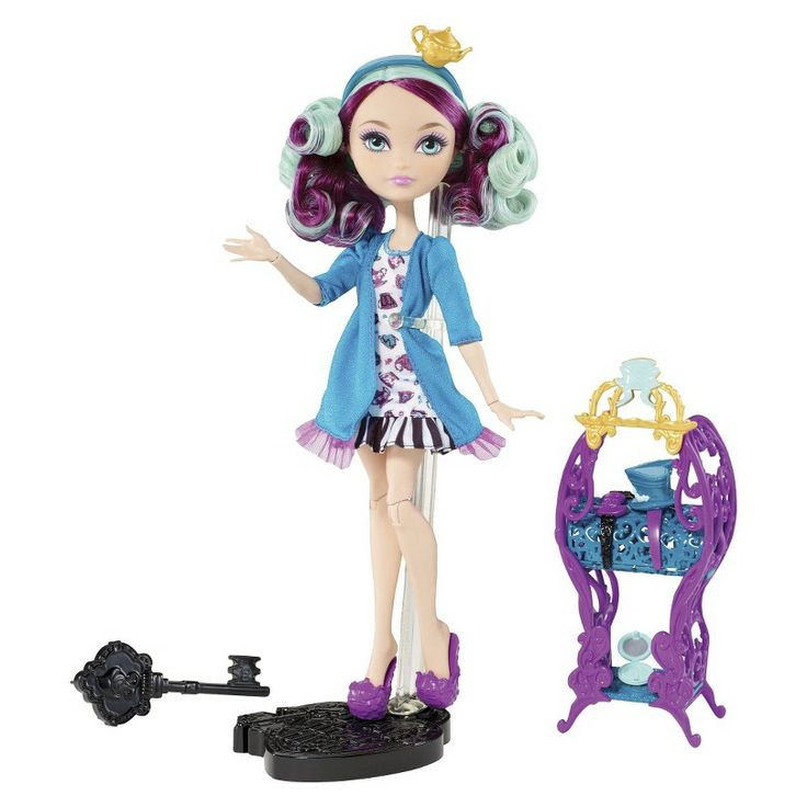 Ever After High Getting Fairest Madeline Hatter Doll & Accessory