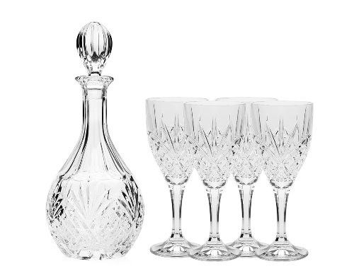 Godinger Dublin Wine Glasses and Decanter Set - 5 Piece  #menwear #LaCuna #watches #babieandtoddlerclothing #menshoes #Handbag #jewelry #womanshoes #womanwear #DARRENS