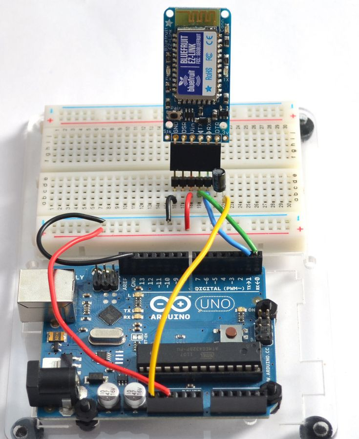 arduino bluetooth shield tutorial