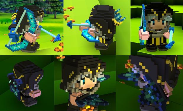 Ashe – League of Legends Cube World Skin