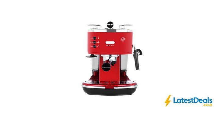 De'Longhi Icona Micalite Espresso Coffee Machine - Red save £100, £99 at AO.com