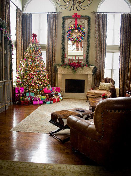 #Christmas Living Room Decorations ideas