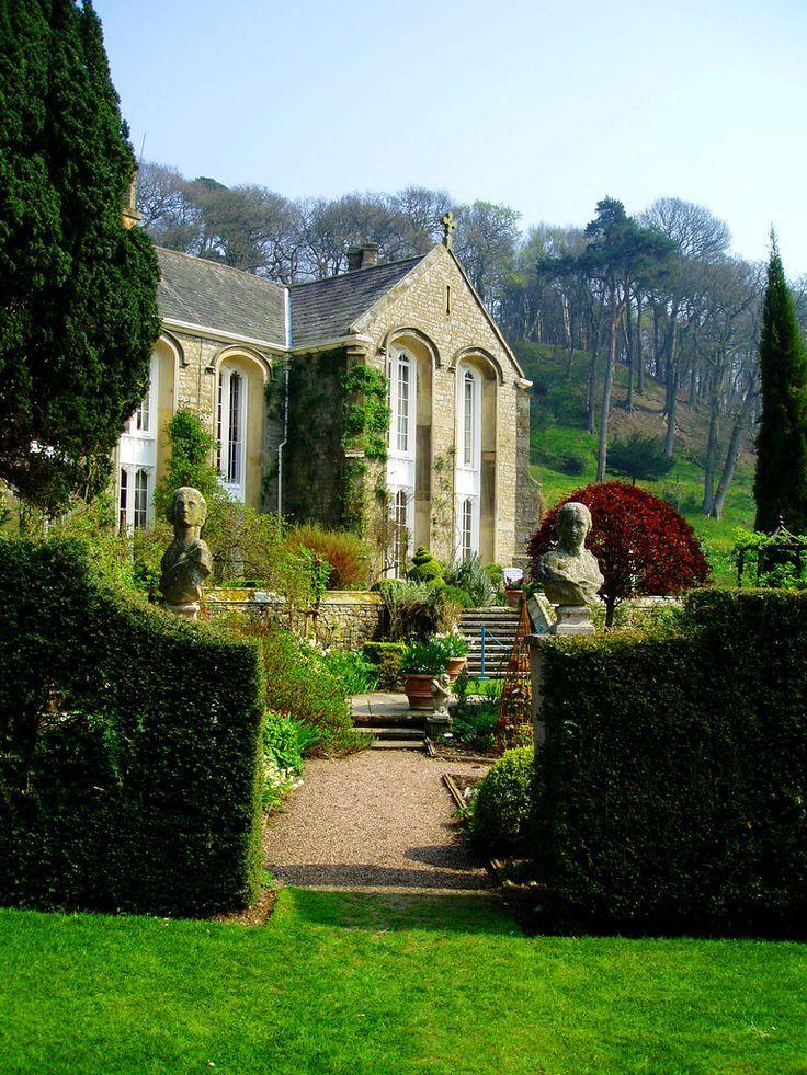Gresgarth Hall Garden, Lancaster, England