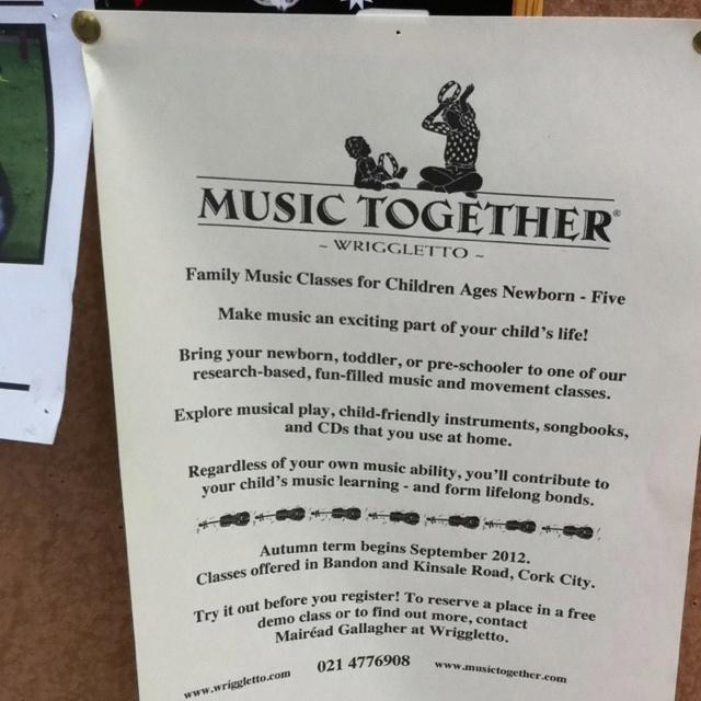 Family music classes