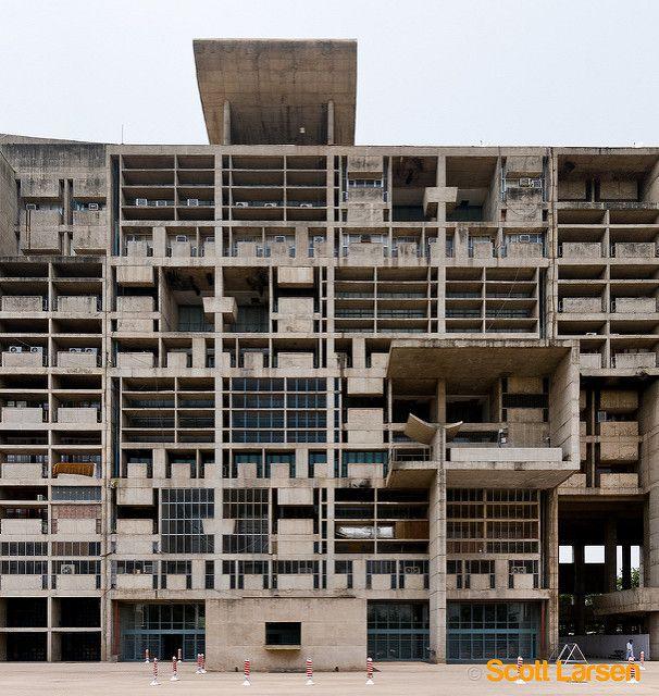 Le Corbusier's Secretariat Building in Chandigarh
