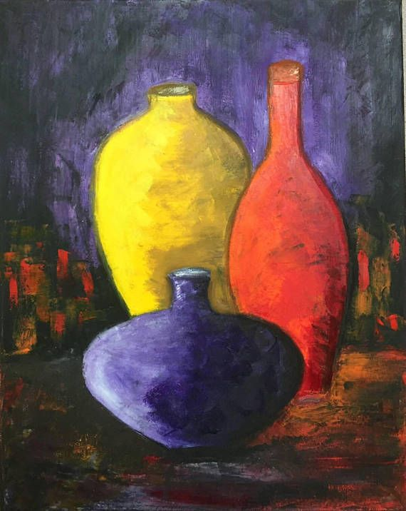 Check out this item in my Etsy shop https://www.etsy.com/listing/575111837/bottles-still-life