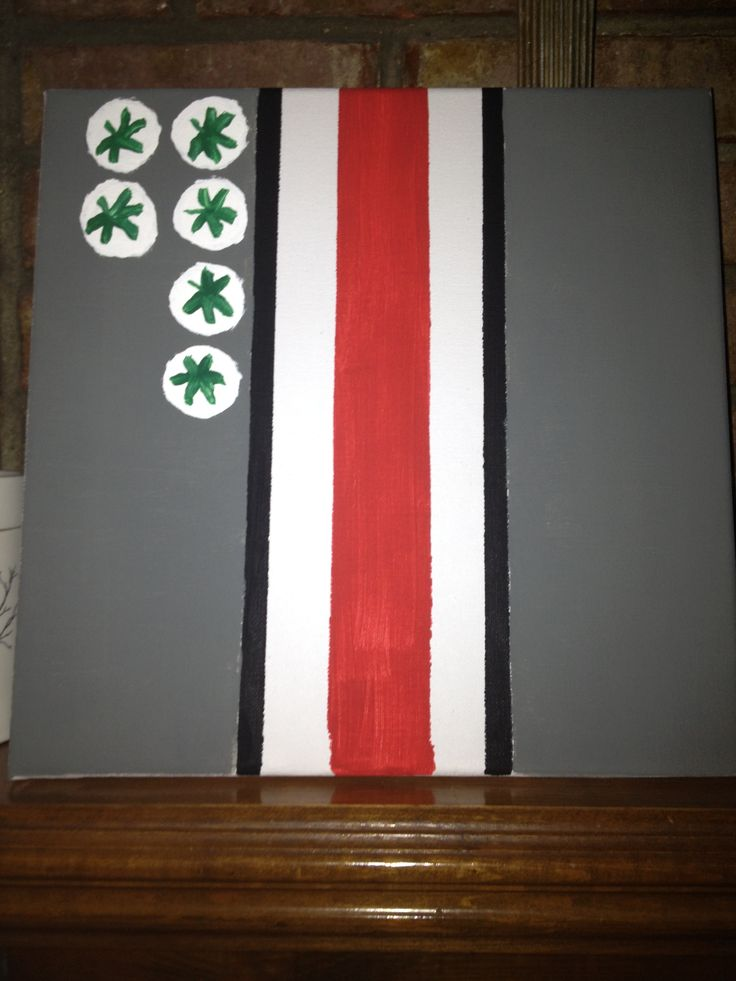 Ohio State Canvas Art