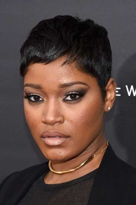 Frisuren für schwarze Frauen mit kurzen Haaren #…