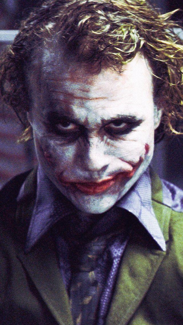 Serious Joker Batman Iphone 5 Wallpaper Fotos Coringa Heath Ledger Coringa Coringa
