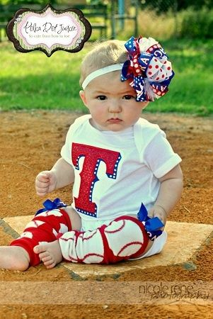 Ranger babe... I need the boy version!! Too cute!
