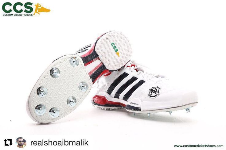 #Repost @realshoaibmalik  A big shoutout to @customcricketshoes for always hooking me up with the best wheels! Thank you to the team at CCS and Dr. Greg MyFootDr @myfootdr