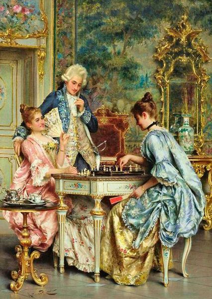 The Game of Chess, by Arturo Ricci