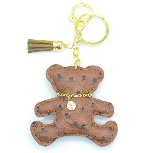 Handmade Tassels Bear Key Chains Bag's Charms Women's Han... https://www.amazon.com/dp/B01LZ1L3QT/ref=cm_sw_r_pi_dp_x_gNJcybM6XE16W
