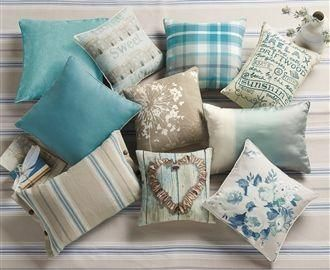 Buy Teal Soft Velour Cushion From The Next UK Online Shop