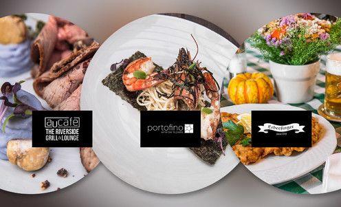 Túlate sa ruka v ruke zimnou Bratislavou a chcete ísť na romantickú večeru. Ak ste pri Dunaji, voľba padne na Au Café s vychýrenou kuchyňou. Môžete vôjsť, čaká vás 3-chodové menu. Alebo prejdite kúsok ďalej a skúste tradične dobrý Leberfinger. Aj tu si pochutnáte na 3 chodoch. Korzujete v Petržalke? Poďte do Portofina – 3 chody plné chuti nájdete aj tu. Gastro zážitok zaručený pri každej voľbe. / Bratislava – nábrežie Dunaja