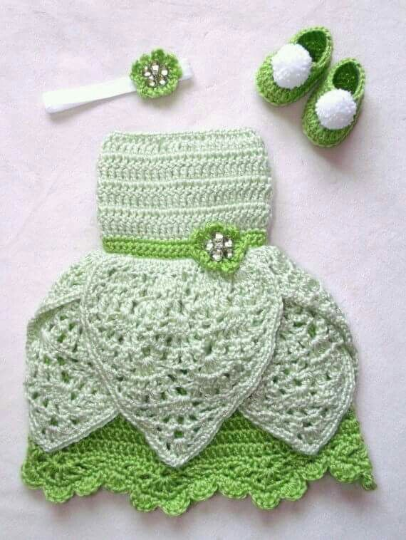 Tinkerbell baby toddler outfit