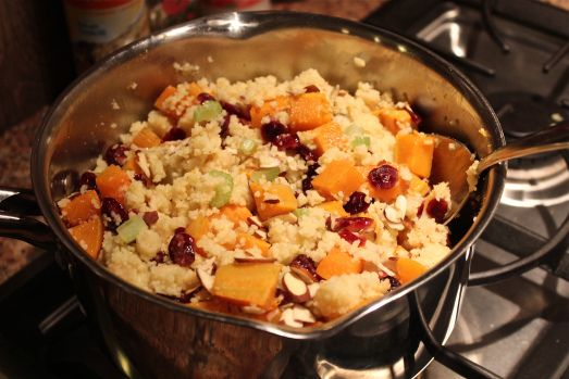 Butternut Squash and Cranberry Couscous, A perfect side dish or warm ...