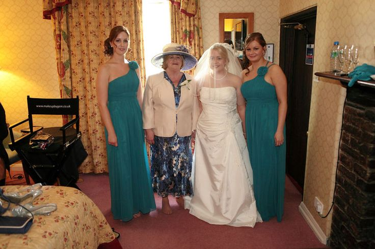 Bridal party at the Howfield Manor Hotel