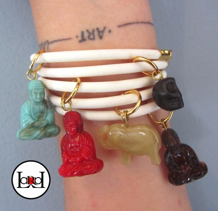 LARA ART Ethnic summer bracelets