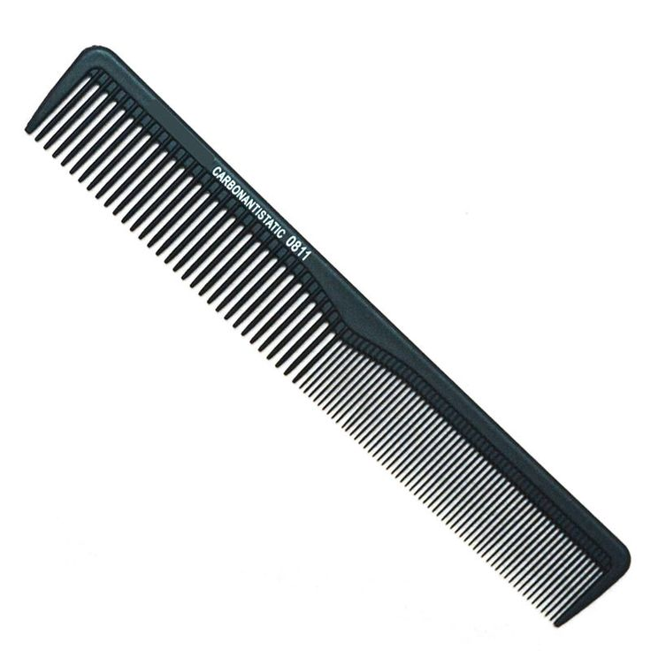 Hairdressing Carbon Comb Antistatic Cutting Comb High Quality Comb Barbering Brush Comb