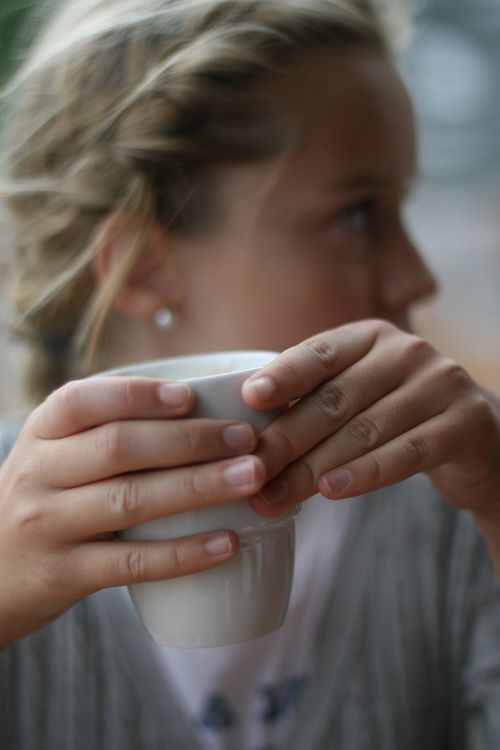 ...: Hot Teas, French Braids, Easy Hairstyles, Natural Nails, Teas Cups, Cups Of Teas, Coff Cups, Saturday Mornings, Braids Hair