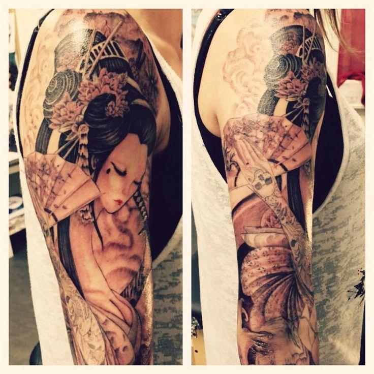 gaisha tattoo demi manchette