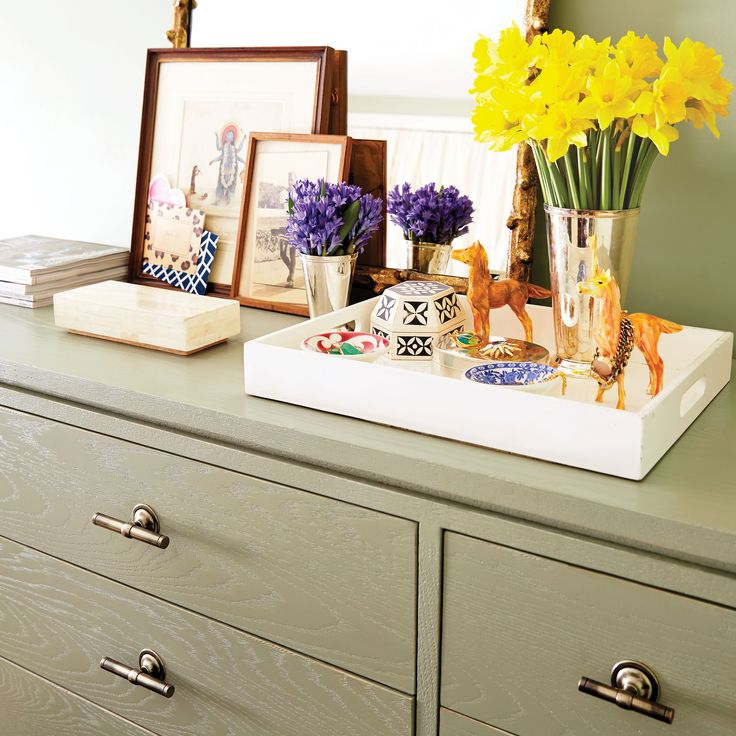 15 best dresser top images on Pinterest | Bedrooms, At home and ...