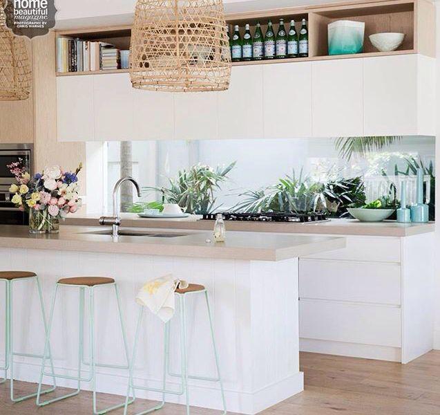 Amazing white and timber kitchen