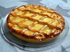 Tarte au libouli (crème pâtissière sur une pâte briochée), une tradition régionale à essayer... :P