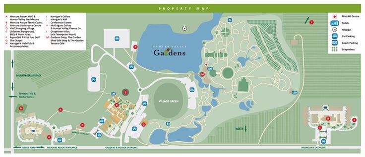 Gardens Map | Hunter Valley Gardens