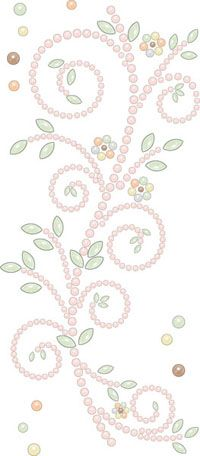 Prima - Say It In Pearls Collection - Self Adhesive Jewel Art - Bling - Songbird - Mix 1 at Scrapbook.com $2.99