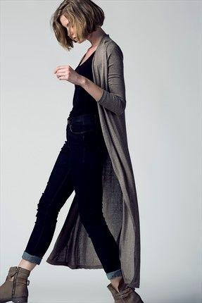 Şimdi Moda · Şehirde Bohem Kadın - Bej Hırka 2762AW1500040 sadece 34,99TL ile Trendyol da