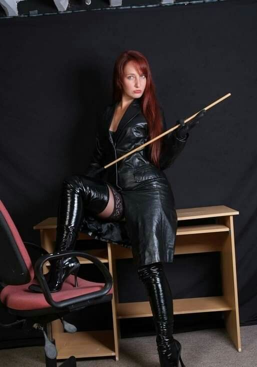 Pin by My Info on leather | Leather dresses, Red leather