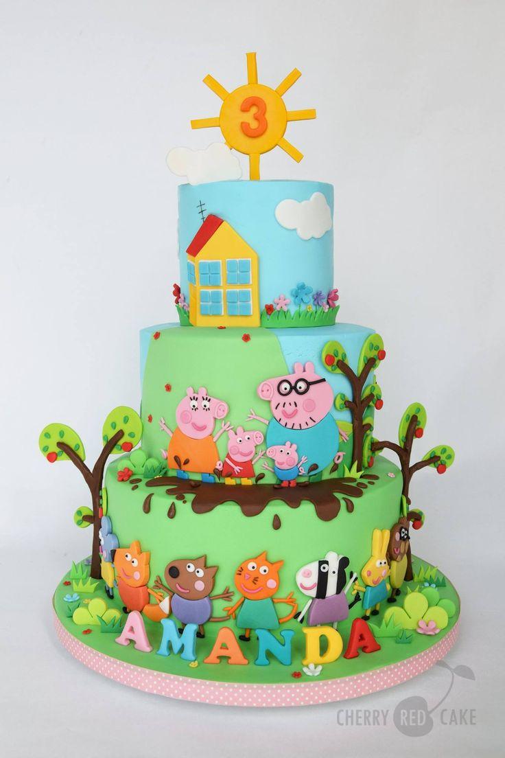 Peppa Pig Cake My Cupcake Addiction