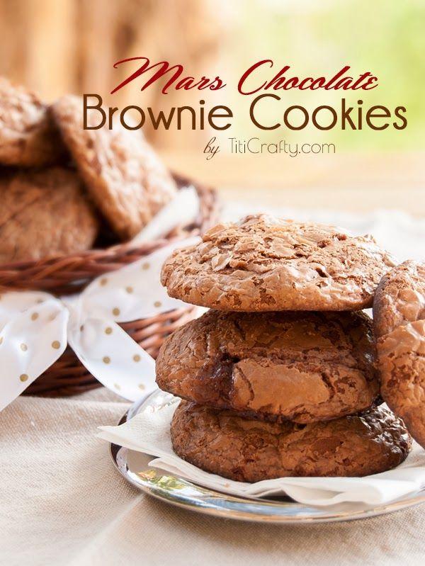 Mars Chocolate Brownie Cookies Recipe