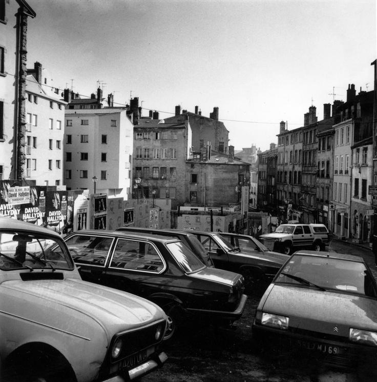 Montée de la Grande Côte à Lyon dans la fin des années 80.