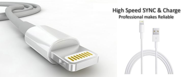 High speed SYNC and charge lightning cable