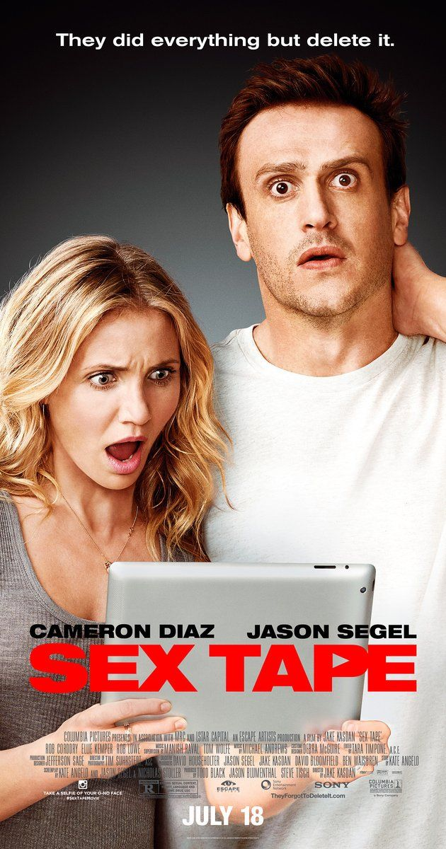 Directed by Jake Kasdan.  With Jason Segel, Cameron Diaz, Rob Corddry, Ellie Kemper. A married couple wake up to discover that the sex tape they made the evening before has gone missing, leading to a frantic search for its whereabouts.