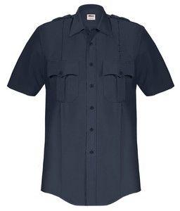 Men's Elbeco Short Sleeve Paragon Plus Poly/Cotton Shirt Includes 1 Postal Police Emblem