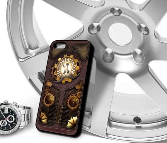 The Victorianator Splash Screen Front cover of steampunk Case for iPhone 4/4s,iPhone 5/5s/5c,Samsung Galaxy S3/s4 plastic & Rubber case on Wanelo