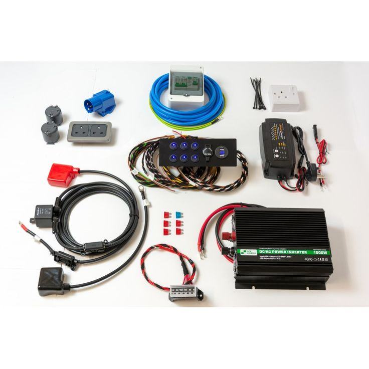 Bespoke  Custom Made Conversion Wiring Loom Harness Including Inverter For Leisure Battery