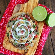 The Comfort of Cooking » Baked Mexican Tostadas