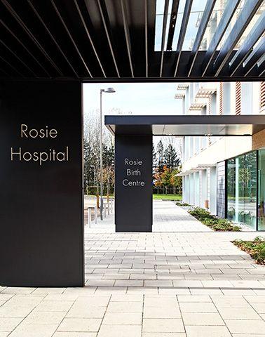 addenbrooke's rosie hospital entrance canopy