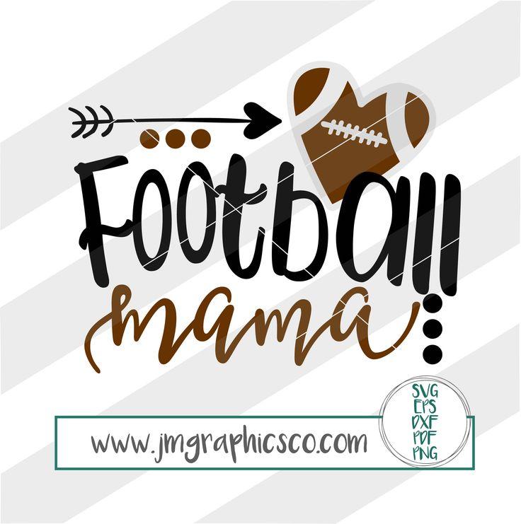 Football mama svg, eps, dxf, png, cricut, cameo, scan N cut, cut file, football svg, football mom svg, football mama cut file, football mom by JMGraphicsCO on Etsy