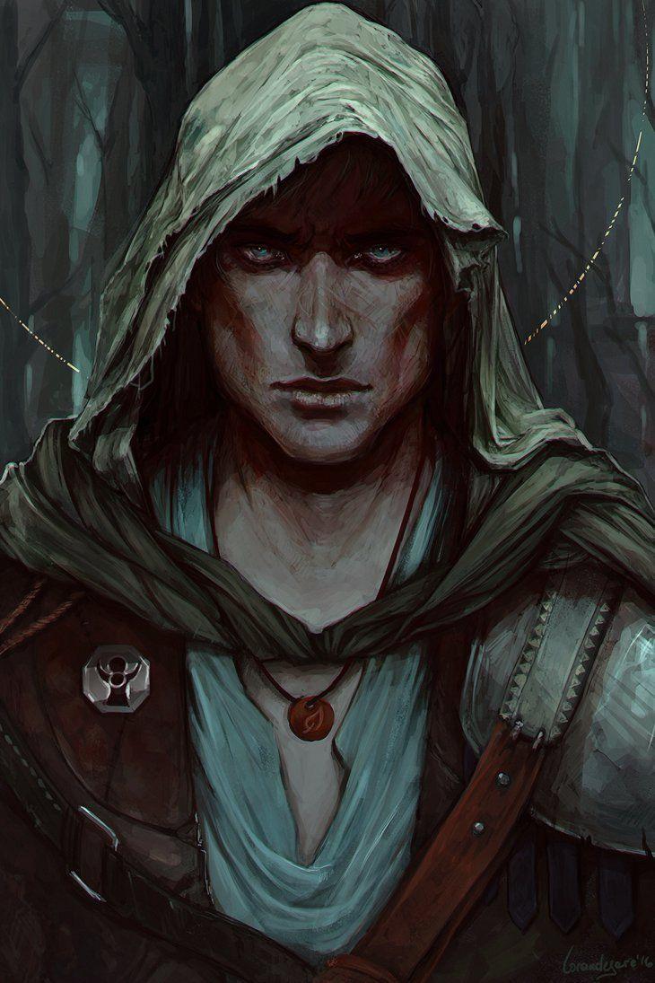 Averil [Warrior by LoranDeSore on DeviantArt]